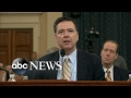 James Comey testifies about the White House, Russian hacking and Trumps wiretapping claims