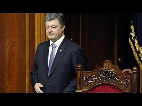 Poroshenko peace plan would create 'buffer zone' between Ukraine and Russia