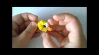 COMO HACER HA FLAPPY BIRD CON GOMITAS (LIGAS)CON TELAR