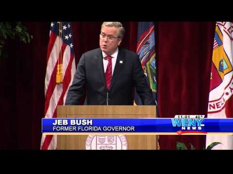 Jeb Bush Visits Cornell Talks Education Reform