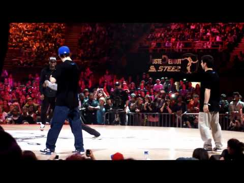 Juste Debout Steez 2012 Paris, Bercy --- Fabrice & Kanon (Ghetto Style) VS. Zulu & Maximus (Live4.1)