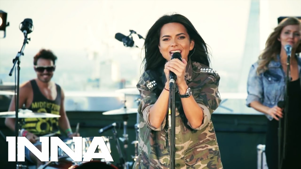 INNA - INNdiA (Rock the Roof @ London) - YouTube