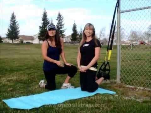 Ab Workout w/ TRX Side Plank Dip & Prone Plank w/ Pedullum Swing