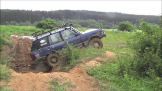 [British Direct accident reviews off roading in range rover] Video