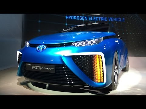 Toyota's New Fuel Cell Car Breakdown!