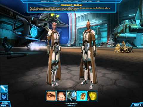 Star Wars The Old Republic: Class And Race Preview