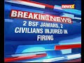 J&K: 2 BSF jawans, 2 civilians injured in cease fire violation by Pakistan in RS Pura Sector