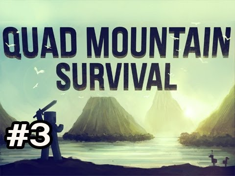 Minecraft: Quad Mountain Survival w/Nova Ep.3 -  Hiding Out