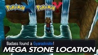 Pokemon X & Y Where To Find Gyaradosite / Location