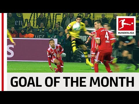 Goal of the Month - November - 2017/18 Season
