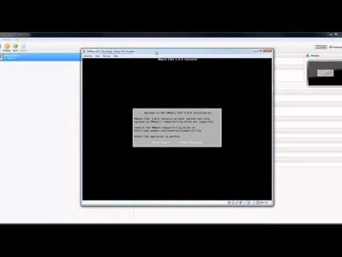 Create VMWare ESXi 5 Virtual Machine in VirtualBox