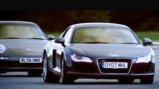 Audi R8 vs Porsche 911 Carrera - Top Gear - BBC videos