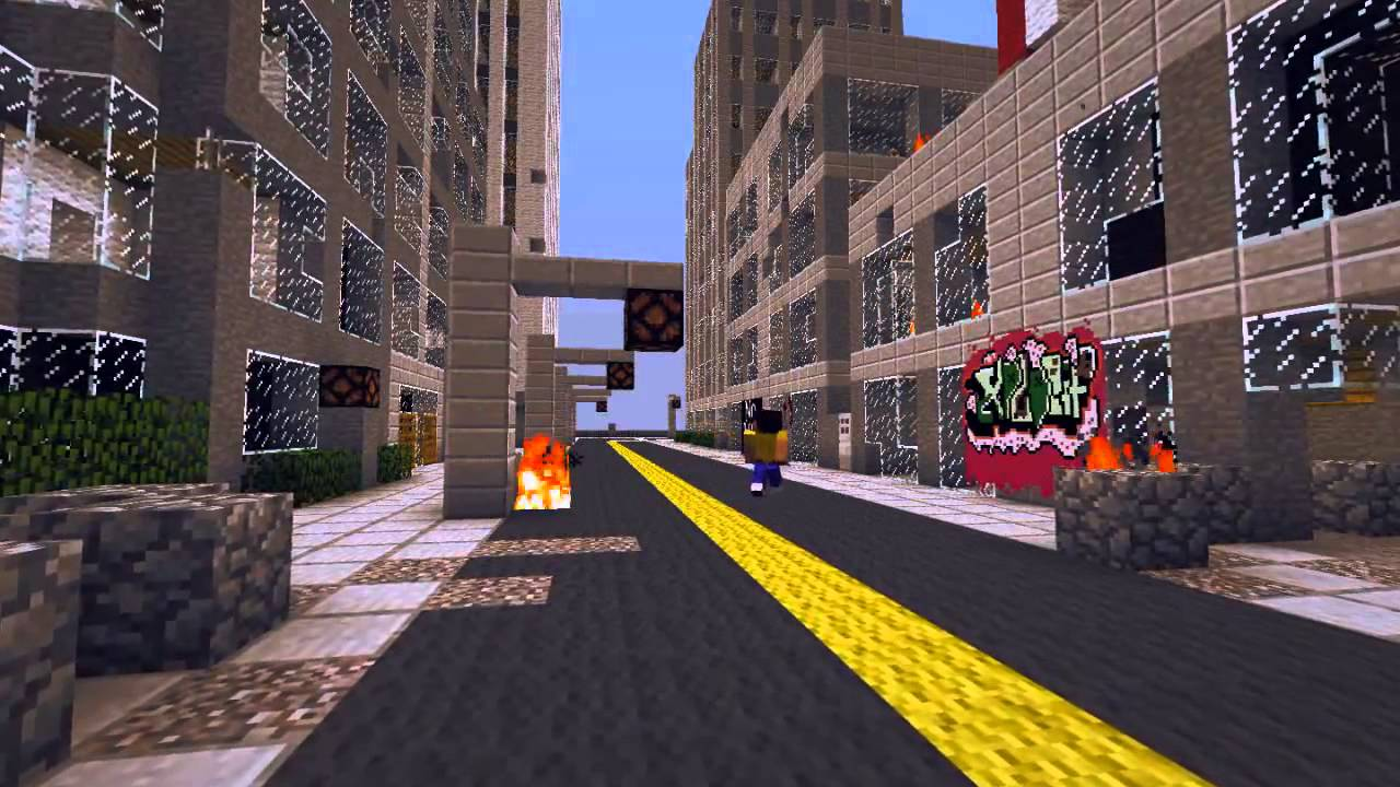 Minecraft зомби апокалипсис смотреть