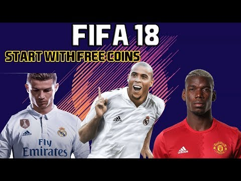 FREE COINS TO START WITH IN FIFA 18 - TIPS/TRADING