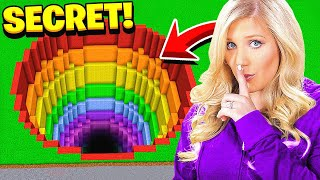 FINDING MY WIFE'S MINECRAFT DROPPER MAP! *TOP SECRET*