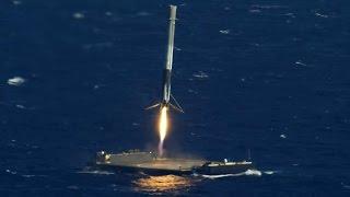 SpaceX landing compilation / best landing montage
