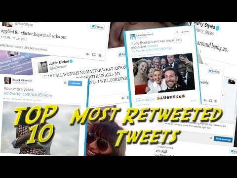 Top 10 Most Retweeted Tweets Of All Time