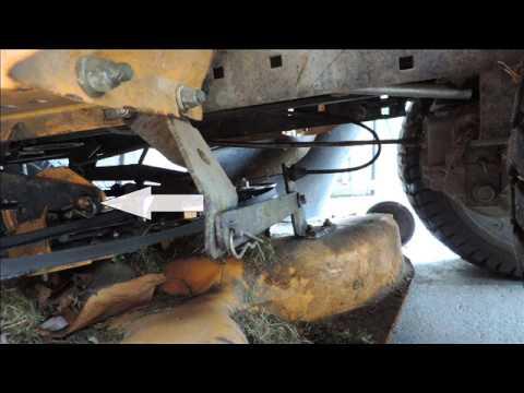 Comment tendre une courroie de tracteur tondeuse
