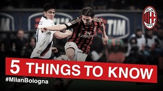 AC Milan-Bologna: 5 things to know | AC Milan Official