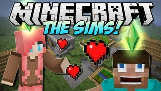 Minecraft THE SIMS In Minecraft! (Minecraft Comes Alive