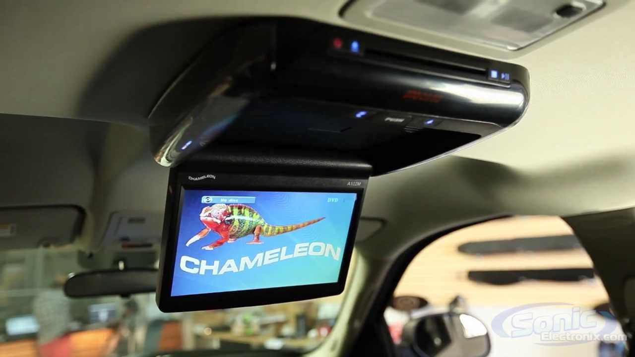 Concept A102m Chameleon Overhead Flip Down Lcd Monitor W