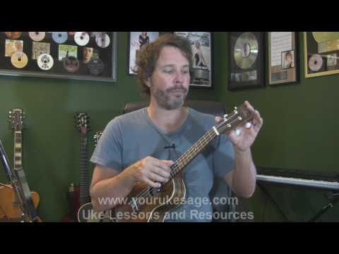 Ukulele lesson #1 Anatomy of the uke, right & left hand technique - Uke Lessons for Beginners