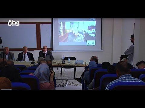 باني النهضة الماليزية لطلبة جامعة القدس : فلسطين مؤهلة للنهوض