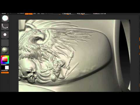 The Lord Inquisitor - Sculpting the Torquemada Chest Armor [HD]