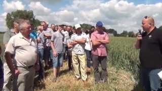 12 czerwca w Brzeźnie Starym na polach należących do Gospodarstwa Rodzinnego ZBYSZKO, firma Jawal Wąg