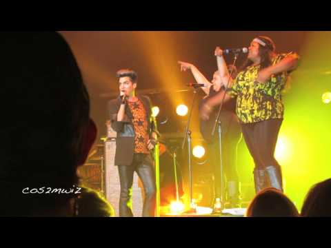 ADAM LAMBERT - Trespassing, Kickin' In, Shady - Fantasy Springs 7-21-12