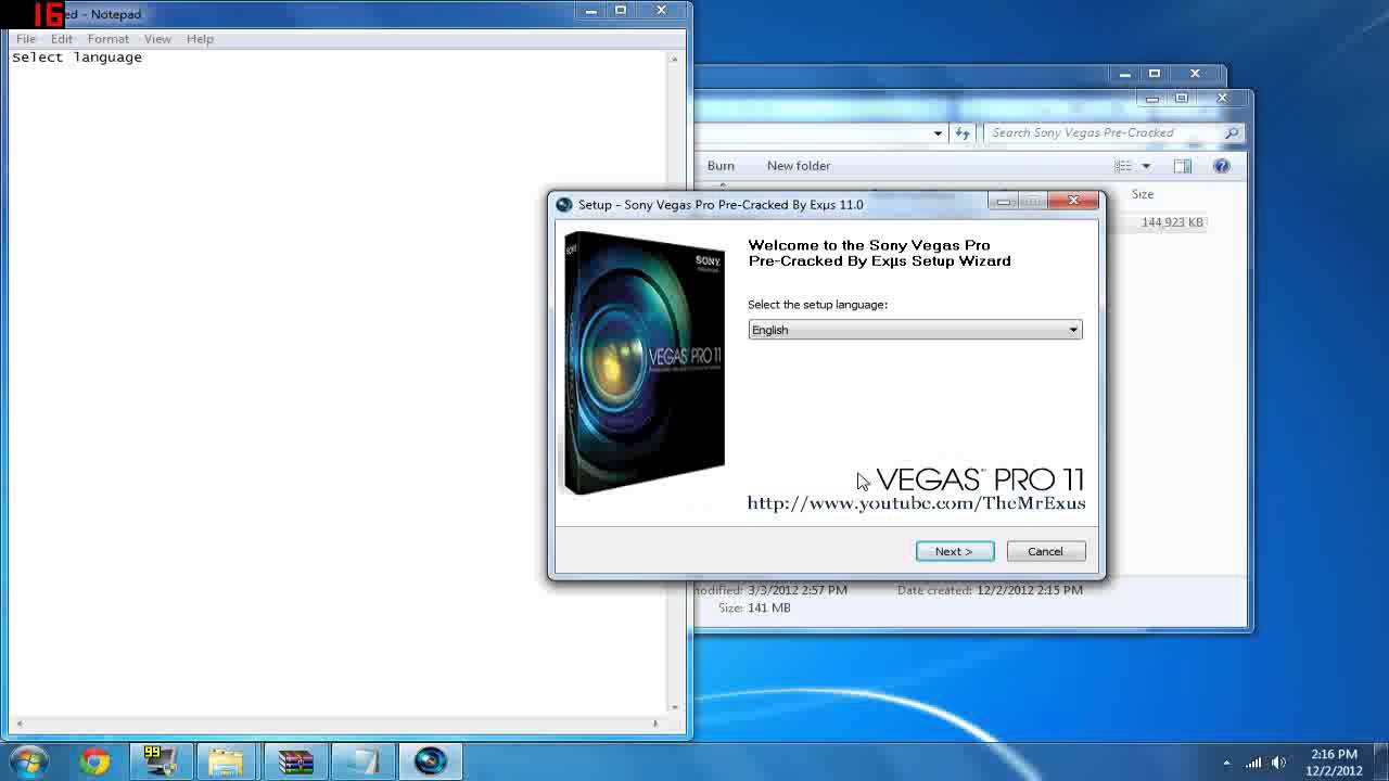 How to get Sony Vegas pro 11 | Pre-Cracked | One Download ...