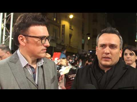 Captain America: The Winter Soldier: Directors Anthony & Joe Russo Paris Movie Premiere Interivew