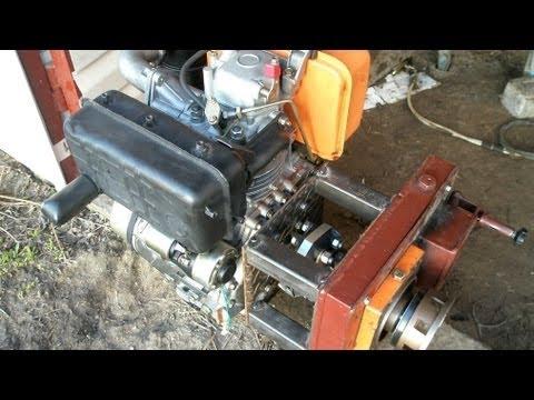 Эластичная муфта для двигателя самодельного минитрактора