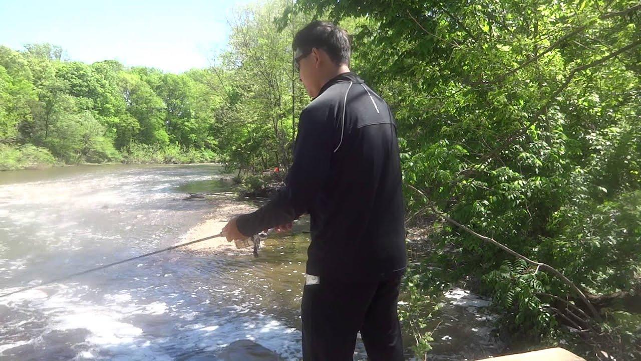 Fishing At Taylor State Park Neshaminy Creek Youtube
