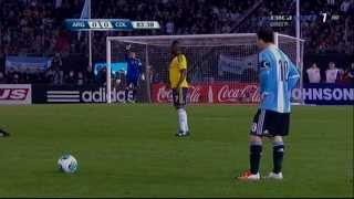 Lionel Messi Vs Colombia 7.6.2013 (World Cup 2014