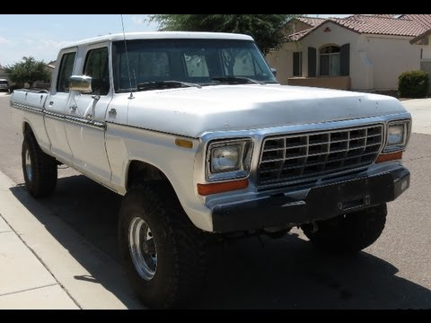 Home » 1977 1979 Ford F250 4x4 Crew Cab For Sale