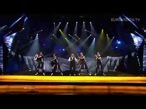 Koza Mostra feat. Agathon Iakovidis - Alcohol Is Free (Greece) - LIVE - 2013 Semi-Final (2)