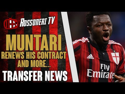 Muntari renews his contract and more... | AC Milan Transfer News | (18/06/2014)