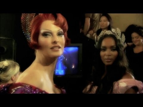 Christian Dior F/W Haute Couture 2007 backstage / runway - youtube