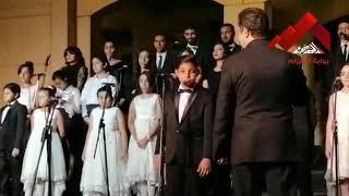 الفائز بالمركز الأول في مسابقة غناء
