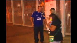 Cruzeirenses reclamam do tr�nsito e chegam apressados para a festa no Mineir�o