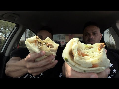 Eating Del Taco's Epic Surf & Turf Burrito