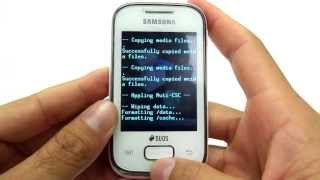 Hard Reset Galaxy Pocket S5302 / S5300| Como Formatar