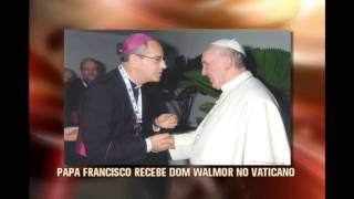 Papa recebe arcebisto metropolitano de Belo Horizonte