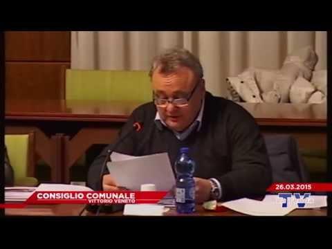 CONSIGLIO COMUNALE VITTORIO VENETO - Seduta del 26.03.2015