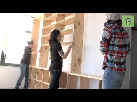DIY Shelving Unit With Allison Oropallo: No Man's Land - YouTube