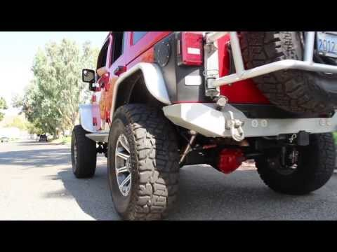 2012-2013 aFe Jeep Wrangler Unlimited Hi-Tuck