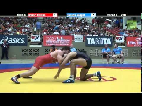 86 KG - Robert Hamlin vs. Quentin Wright