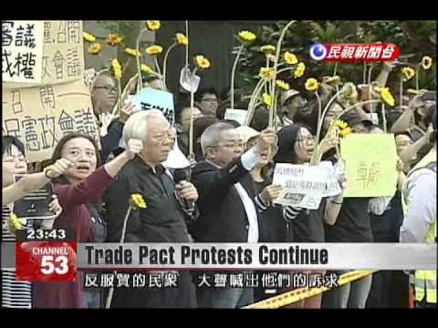Protesters urge president to let the Taiwanese people decide Taiwan's future