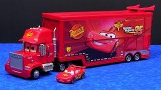 Cars Mega Mack Raceworld Playset Made By Mattel Hauler